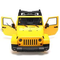 LeadingStar 1/10 RC Truck Hard Body Shell Canopy Rubicon Topless for SCX10/D90