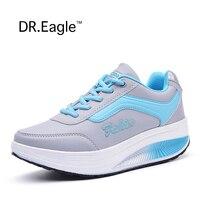 Зимние дешевые кроссовки женские легкий на платформе прогулочная спортивная обувь женские фитнес-качели-качалка обувь кроссовки