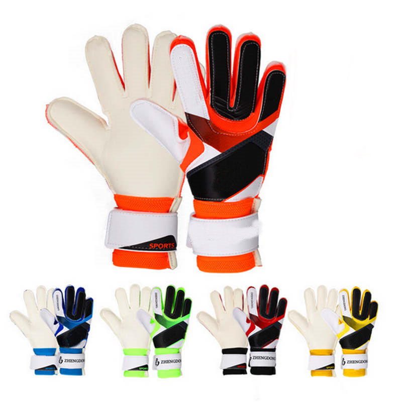 Finger protection professional football gloves thicker latex goalie gloves outdoor sports football game gloves team sports