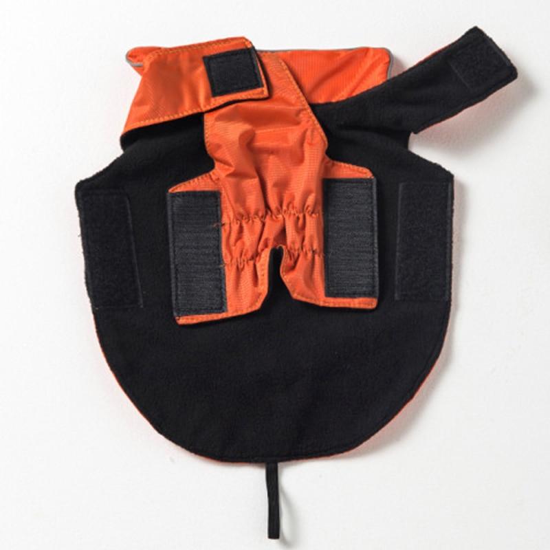Fekete vörös vízálló kisállat kutya kabát 100% - Pet termékek - Fénykép 4