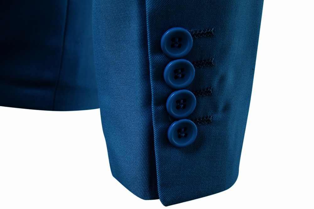 2019 メンズビジネスカジュアルスーツジャケット宴会結婚式花婿の付添人コート男性スリムシングルボタン大型生き抜くフォーマルウェア 6XL