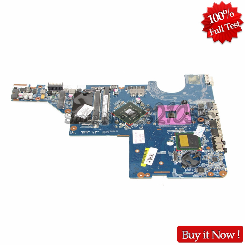 NOKOTION Classy Quality For HP G42 G62 CQ42 CQ62 Laptop Motherboard 605140-001 PGA478 Chipset GL40 DDR3 100% Fully Tested nokotion for acer aspire 5750 laptop motherboard p5we0 la 6901p mainboard mbrcg02005 mb rcg02 005 mother board