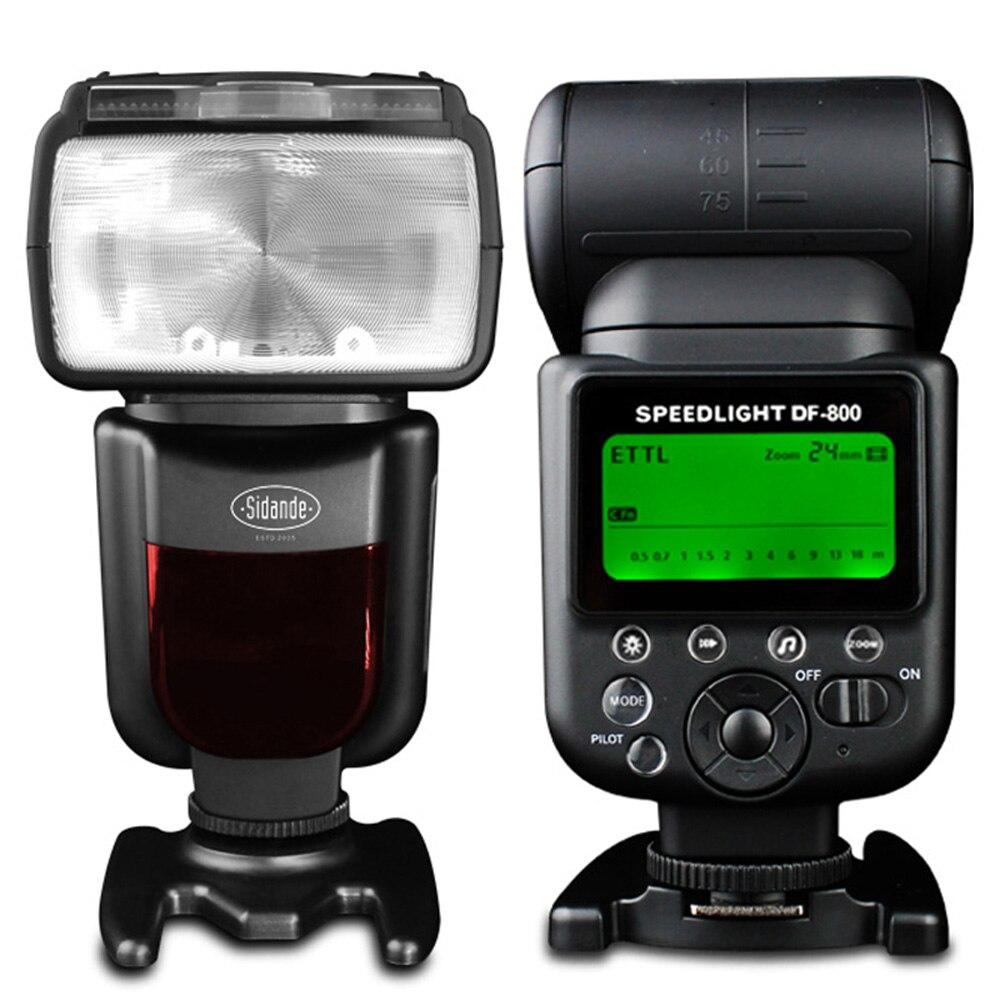НОВЫЙ Sidande DF800 GN58 I-TTL Мастер Вспышка Высокая Скорость Синхронизации 1/8000 s Вспышка для Nikon Цифровые ЗЕРКАЛЬНЫЕ ФОТОКАМЕРЫ