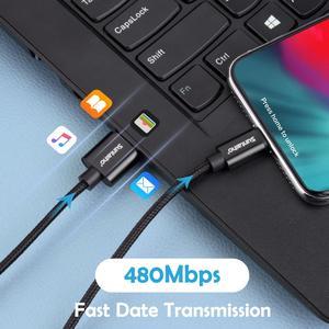 Image 2 - Suntaiho 2.4A USB kablosu iPhone X için şarj aleti kablosu iPhone XR MAX XS 8 7 6 artı 5 s USB Veri kablolu telefon Hızlı şarj kablosu