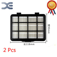 2Pcs Lot High Quality Compatible With For Midea C3 L148B Vacuum Cleaner Accessories Filter Exhaust HEPA