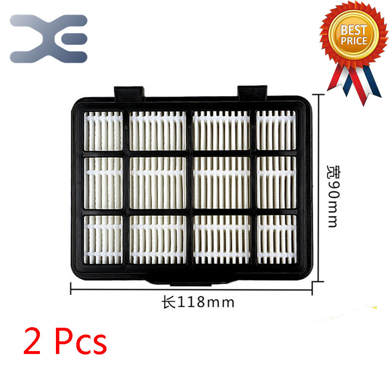 2Pcs Lot High Quality Compatible With For Midea C3-L148B Vacuum Cleaner Accessories Filter Exhaust HEPA Filter 5pcs lot high quality compatible with for midea vacuum cleaner accessories filter hepa vc34j 09c vc12c1 vv