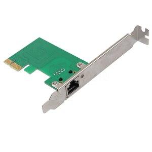 Image 2 - 1000Mbps Gigabit Ethernet adaptateur PCI Express PCI E carte réseau 10/100/1000M RJ 45 RJ45 LAN adaptateur convertisseur contrôle réseau