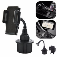 360 Degree Adjustable Universal Cup Socket Holder Car Mount Stand Cradle For Phone MP3 GPS Cars
