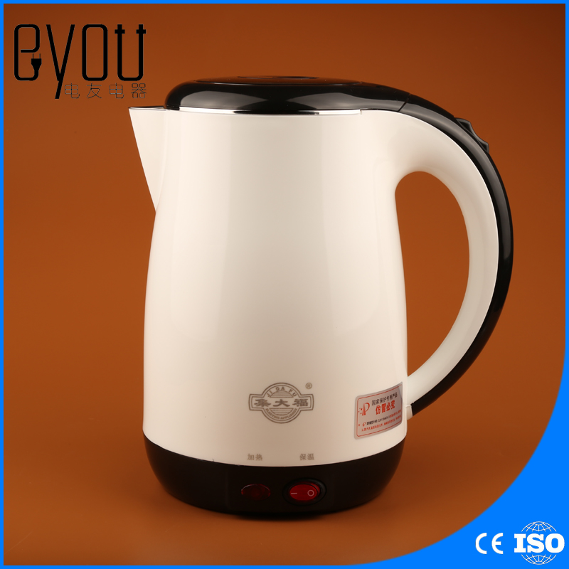 JDC-18V Home appliance Household 1.8L Stainless Steel Electric Kettle With Auto-Off Function Quick Heat Water Heating Kettle cukyi stainless steel 1800w electric kettle household 2l safety auto off function quick heating red gold