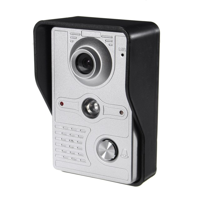 7'' Wire Video Door Phone Doorbell Intercom Camera Monitor Security Night Vision Home Security Camera