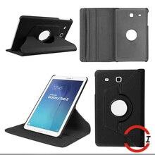360 вращающийся ИСКУССТВЕННАЯ Кожа Case Cover For Samsung Galaxy Tab E 9.6 T560 T561 SM-T560 Планшетный Аксессуары Y4a04d