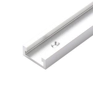 Image 5 - T slot T track Miter Track Fixture Slot Router Table Woodworking Tools 300/400/500/600mm T Track Slot Slide Slab