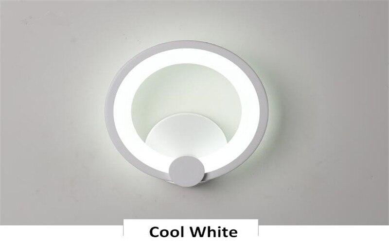 interior arandelas alumínio moderno luz da parede