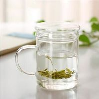 Heat Resistant Glass cup,teapot with lid filter/strainer,coffee,Home office Dinkware,pu'er/Dahongpao/Milk oolong/white tea Cha