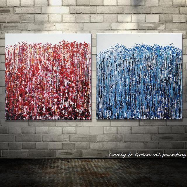 100% Original Handpainted Abstract Oil Painting On Canvas Art Painting Picture For Living Room Wall Decor Home Decoration