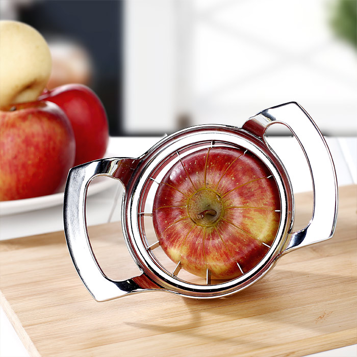 Apple cuter stainless steel kitchen gadget cut fruit artifact 12 sheet cut into the core kitchen accessories sets