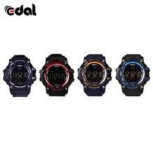 Men Smart FSTN LCD Watch Pedometer Clock Mode Fashion Outdoor Sports Watches 50M Waterproof Man Watchs