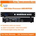 2017 Novo Design! projeto melhor escolha levou processador de vídeo display led RGB led display led controlador de vídeo AMS-MVP508 para TS802D MSD300