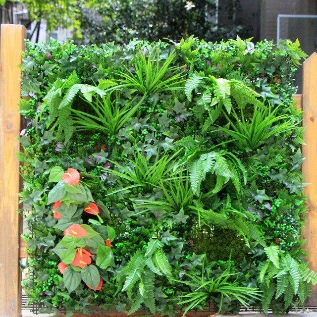 1 M² De Jardin D\'ornement Clôture Artificielle Verdure Plantes ...