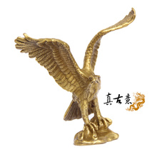 light copper Eagle ornaments realize the ambition A great hawk spreads its wings business gifts