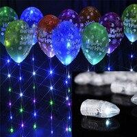 50pcs/lot led ball Flash Lamps Balloon Lights for Paper Lantern Balloon Light White, Red, Blue, Green, Yellow Wedding Decoration