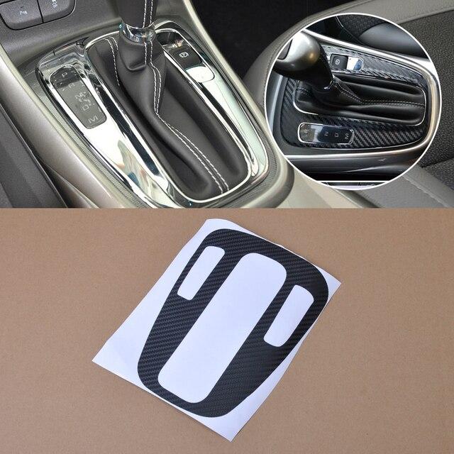 Beler新1pc車スタイリング炭素繊維パネルギアシフト保護カバーのためにシボレーholden malibu 2012 2013 2014 +
