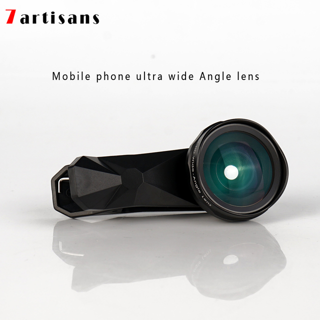7artisans super wide angle distortion free mobile phone lens Apple Huawei xiaomi mobile phone universal camera external HD lens