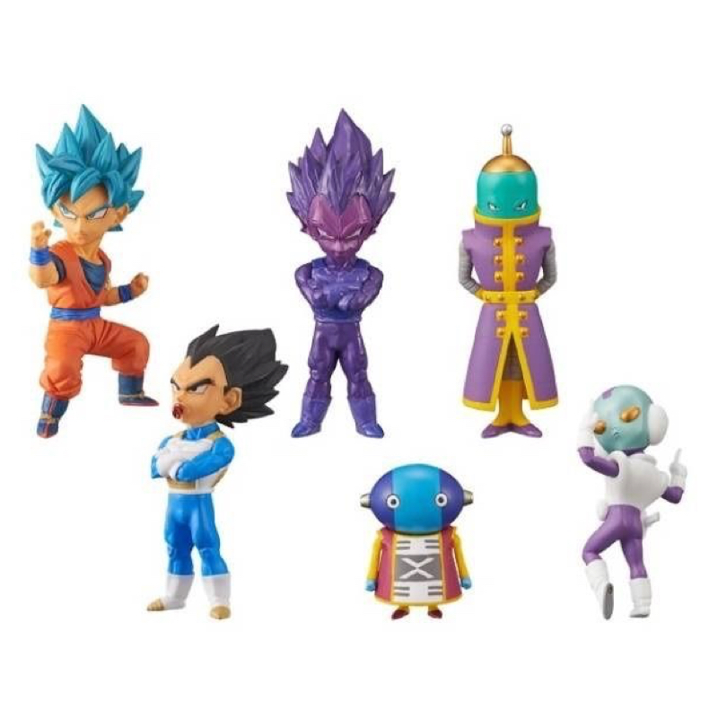 Dragon Ball Super Z WCF World Collectable Figure BATTLE OF SAIYANS Vol.5 Full Set 100% Original original banpresto world collectable figure wcf the historical characters vol 3 full set of 6 pieces from dragon ball z