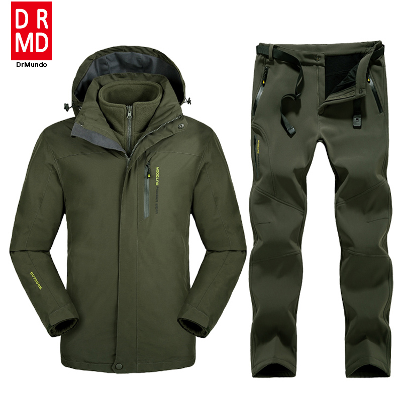 Plus Size Men Skiing Ski-wear Waterproof Hiking Outdoor jacket Snowboard jacket Ski suit men Large Size Snow jackets hot sale europe size qs men s snowboards jacket 5000 5000 coat outdoor skiing sportwear hiking cycling mans clothing size m l