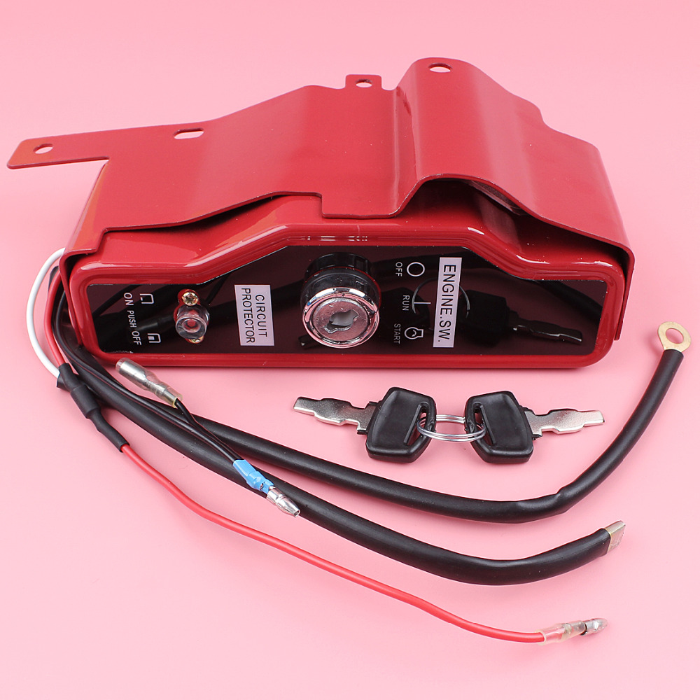 Ignition Switch Box with 2 Keys For Honda GX390 GX340 13HP 11HP Lawn Mower Gas Engine Motor Spare Part