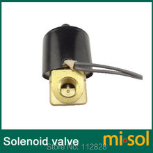 New DC 12V Electric Solenoid Valve 1/4′ for Air Water Gas Diesel
