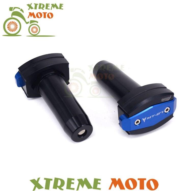 CNC Frame Sliders Crash Pad Cover Falling Protector Guard For Yamaha MT-07 MT07 15 16 2015 2016 Motorcycle Dirt Bike Off Road