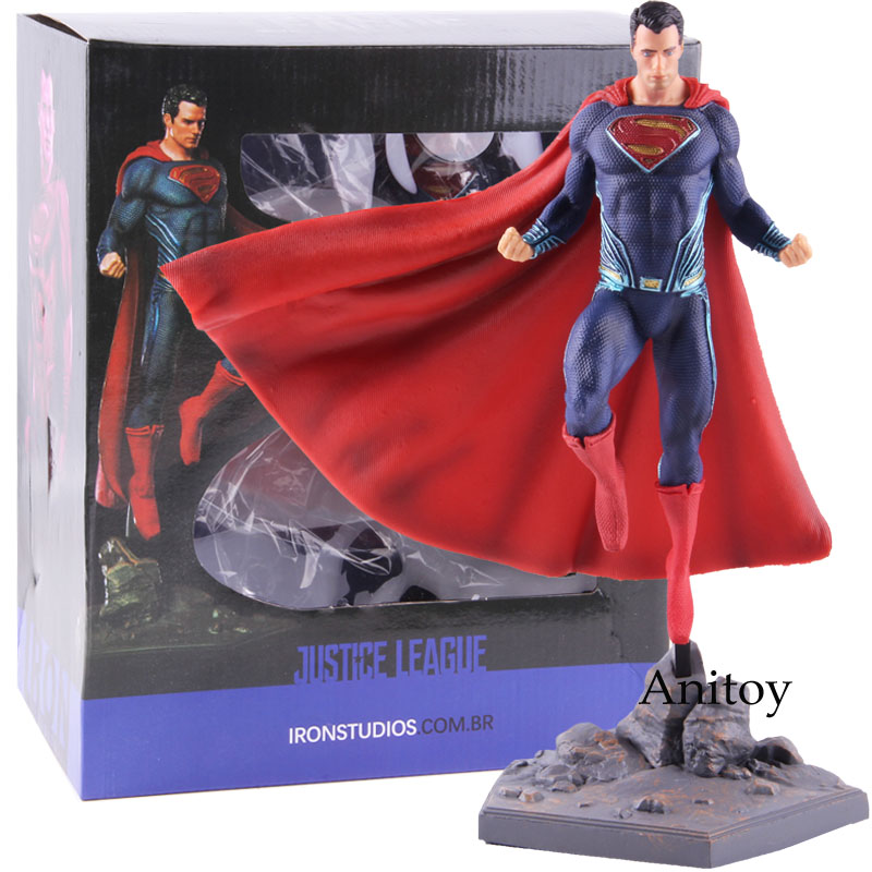 Image 5 - DC Superman Figure IRON STUDIOS Justice League Superman Action Figure Super Man PVC Collectible Model Toy-in Action & Toy Figures from Toys & Hobbies