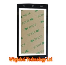 "Envío 3 M Cinta + Nuevo Sensor de Pantalla táctil De 5 ""qumo quest 510 panel táctil de cristal digitalizador reemplazo envío gratis"