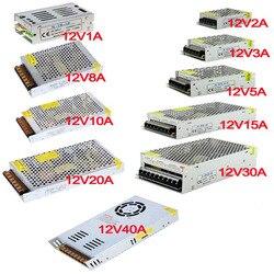 vusum 12V Power Supply led driver Lighting Transformer for LED Strip  24W 36W 60W 100W 120W 180W 240W 360W 480W