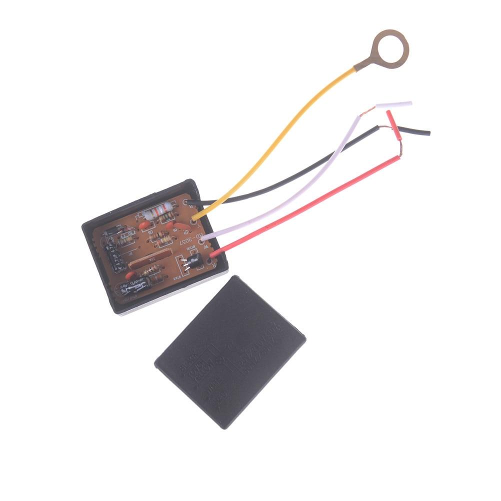 Détecteur tactile AC 100-240V   3 voies, pièces de lampes de bureau, capteur de commande tactile, gradateur pour ampoules interrupteur de lampe