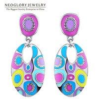 Neoglory Fashion Luxury Drop Earrings Wholesale 2013 Designer Jewellery For Women Multicolor Costumes Jewelry Min Order10
