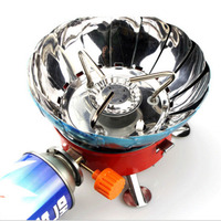 Wind Shield Outdoor Windproof Gas Stove Camping Portable Picnic Gas Burner 4000BTU Cooking Tools