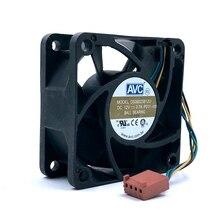Darmowa wysyłka DS06025B12U P011 60mm 6cm DC 12V 0.70A Pwm serwer falownika wentylator