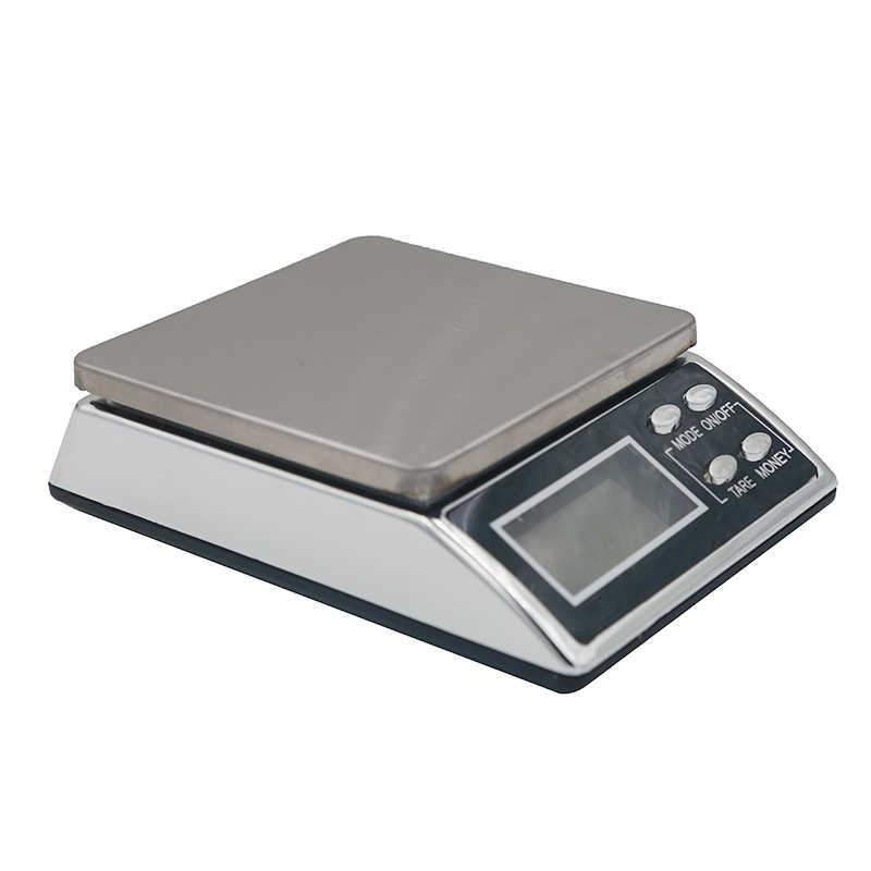 Новое поступление 500 г 0,01 г Цифровой ЖК-дисплей Вес ювелирные весы электронный баланс с детектором валюты скидка 20%