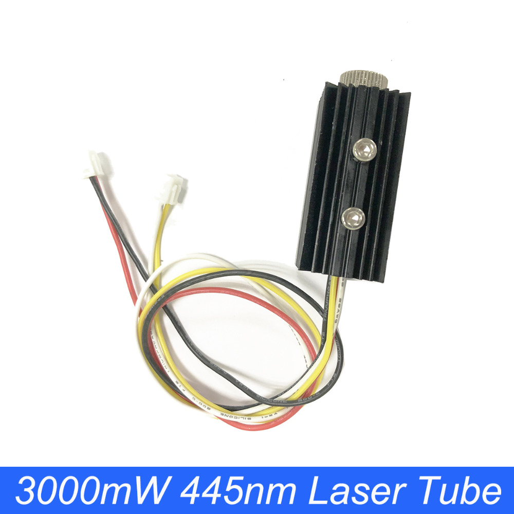 NEJE 3000mW 4Pin Laser Head Tube Module Accessory Laser Engraving Machine Replace Parts For NEJE DK-8-KZ / DK-8-FKZ Engraver