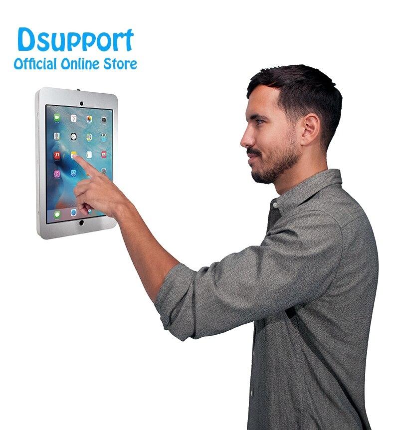 Brand New Liga de Alumínio Tablet PC parede projeto Anti Roubo Display Stand Com Trava De Segurança para IPAD PRO 12.9 POLEGADAS