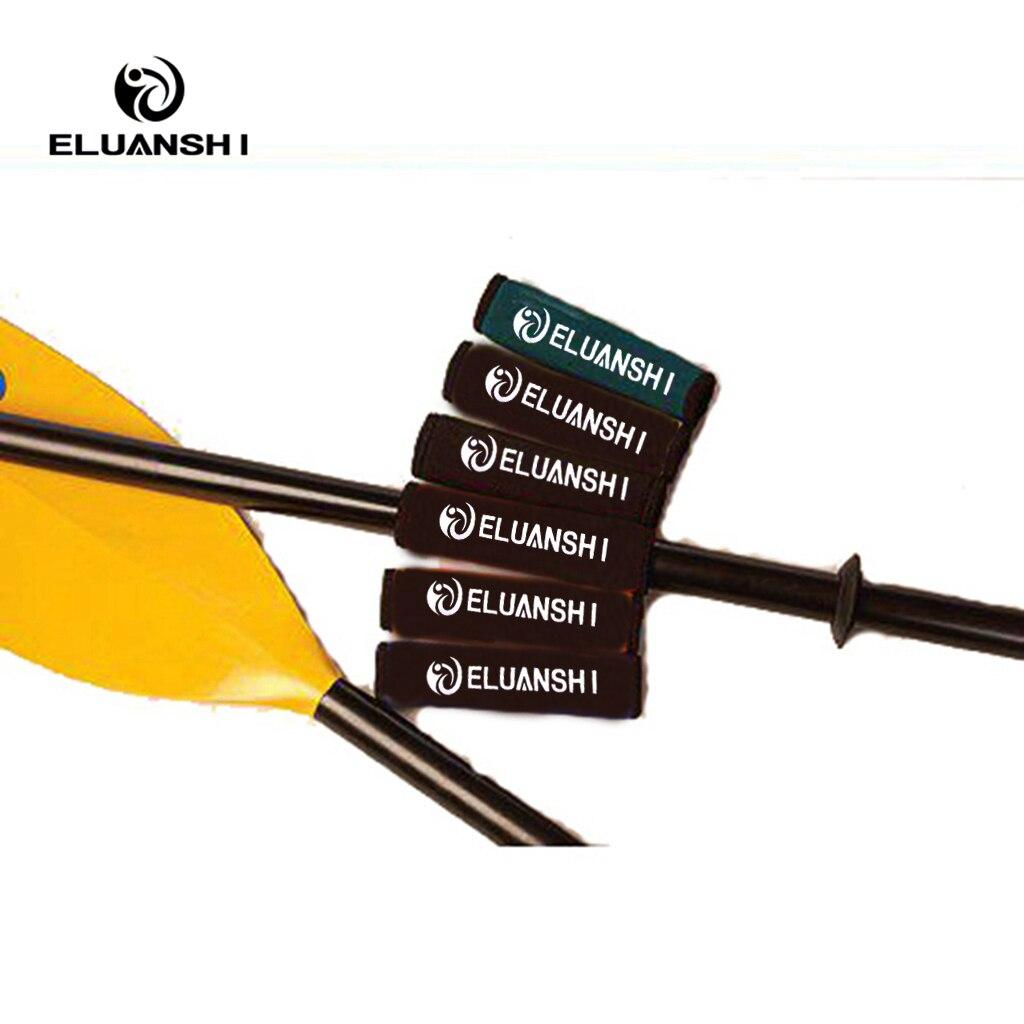 (2 шт. каскад-Крик eluanshi комфорт весла Ручки рулевые для мотоциклов гребная лодка аксессуары морской черный каноэ банджи плот Bateau de рыбалка