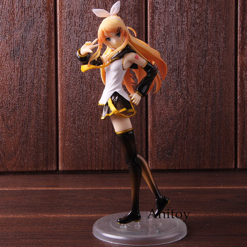FREEing <font><b>Kagamine</b></font> <font><b>Rin</b></font>: <font><b>Rin</b></font>-chan Now! Adult Ver. 1/8 Scale PVC <font><b>Kagamine</b></font> <font><b>Rin</b></font> <font><b>Figure</b></font> Action Collectible Model Toy image