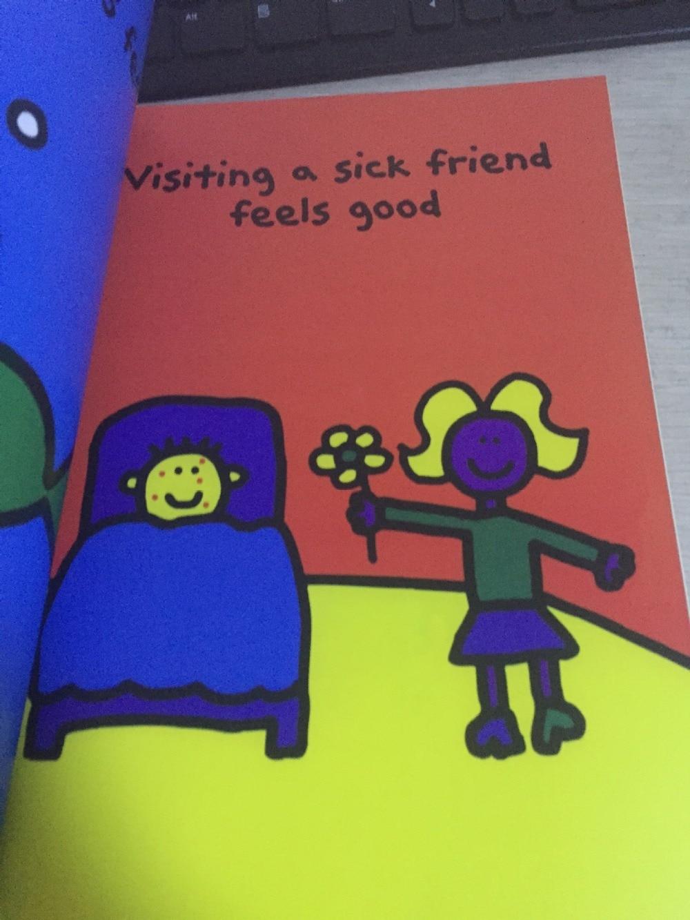 La sensación buen libro original inglés libros de imágenes childres ...