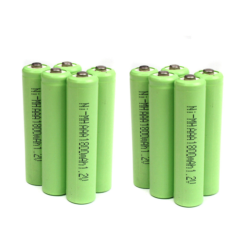 10 Pieces/Lot AAA Rechargeable Battery 1800mAh 1.2V NI-MH Batteries For Remote Remote Control Toy Light ...