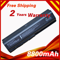 8800mAh 12 cells Laptop Battery for HP Pavilion dv6 dv5  Presario CQ50-100 G50 HDX16 Series  KS524AA  KS526AA EV06055  KS527AA