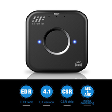 Siroflo Bluetooth Transmitter Receiver With NFC Audio 3.5mm Aux Adapter For PC Smartphone