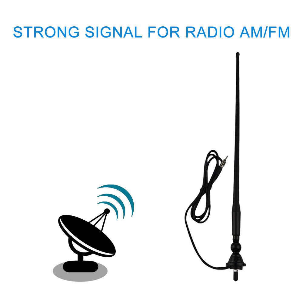 Antena FM AM para Radio marina, impermeable, pato de goma dipolo, moduladores de FM flexibles para coche, barco, yate, ATV, Tractor UTV
