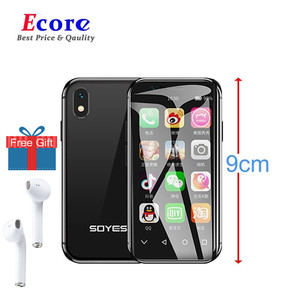 Original SOYES XS Mini Smartphone 3GB+32GB Android Mobile 4G Wifi GPS Google Play Pocket Face Recognition Smallest Mobile Phone